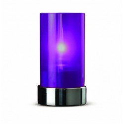Lamp metal purple